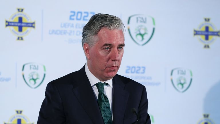John Delaney was appointed chief executive of the FAI in 2005