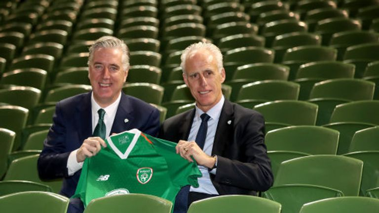 McCarthy was appointed as Republic of Ireland manager for a second time in November