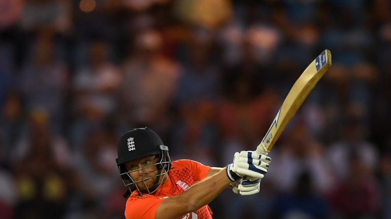 Jonny Bairstow opened the batting for England in the recent T20I series in the West Indies