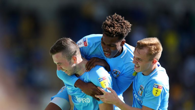 Coventry are ninth in the League One table, three points off the play-off positions