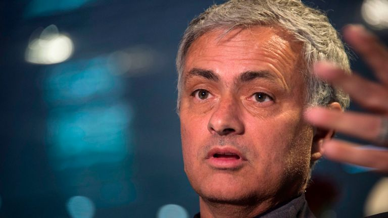 Jose Mourinho says Manchester United needed to put Lionel Messi 'in a cage' at the Nou Camp