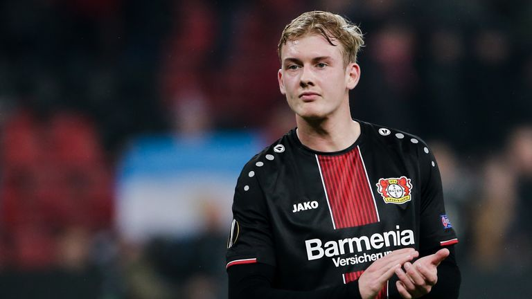 Borussia Dortmund are interested in signing Bayer Leverkusen's Julian Brandt
