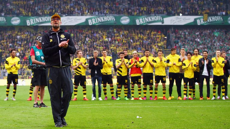 Klopp on an emotional farewell from Borussia Dortmund in 2015