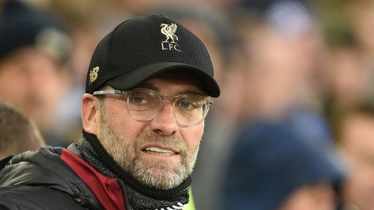 Klopp should have made more of an attempt to win the game at Goodison, says Merson