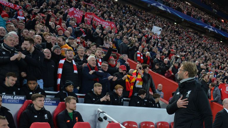 Liverpool fans took to Klopp instantly upon his appointment