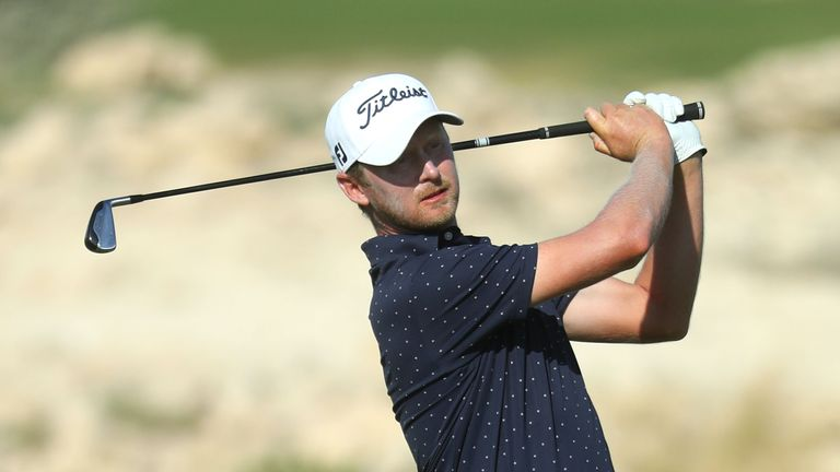 Harding claimed victory thanks to a final-round 66