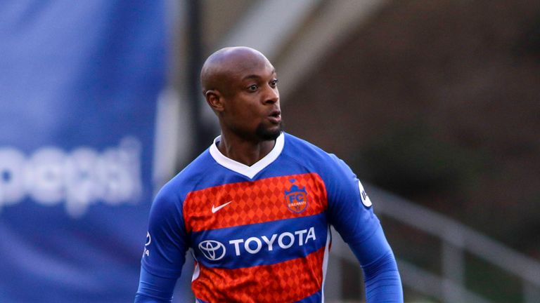 Ex-Arsenal player Justin Hoyte is back playing top-flight football in MLS