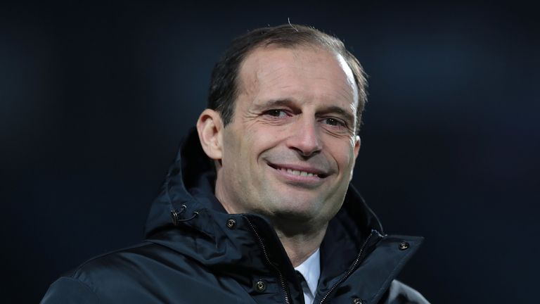 Massimiliano Allegri is said to have fallen out with club president Andrea Agnelli