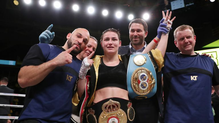 Katie Taylor is targeting her fourth world lightweight title