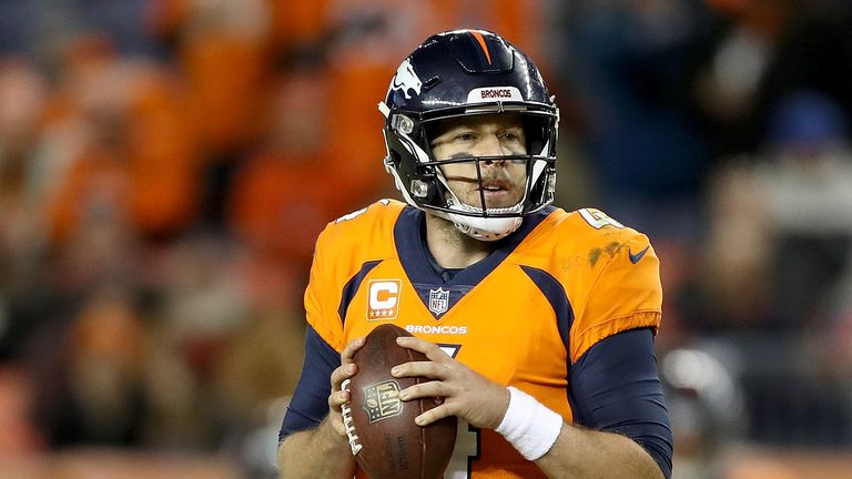 Broncos trading Keenum to Washington