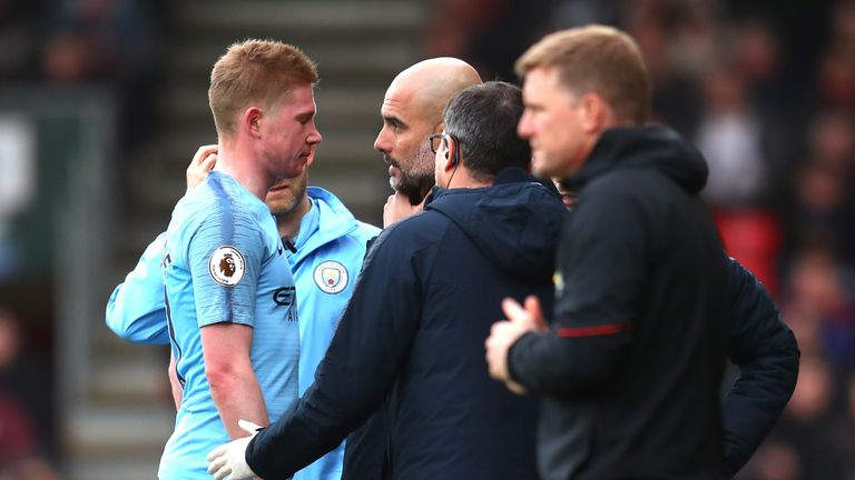 Kevin De Bruyne says Pep Guardiola's intensity is even greater than his own