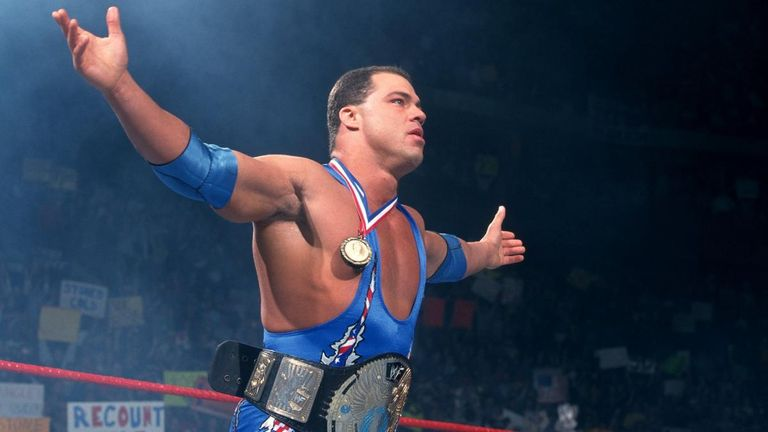 Kurt Angle calls time on his glorious 21-year career in wrestling next month - but who should he face in his final match?