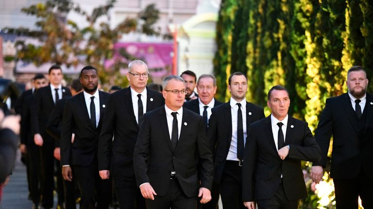 Leicester City staff and players were in Thailand to pay their final respects to late chairman Vichai Srivaddhanaprabha