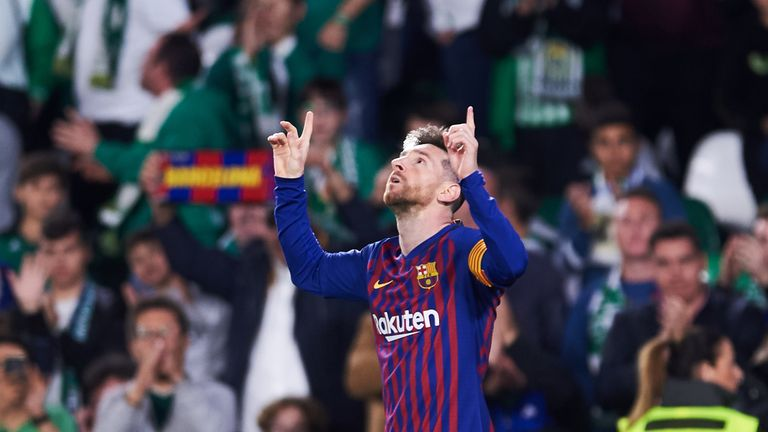 Real Betis 1-4 Barcelona: Lionel Messi scores 51st career hat-trick in win