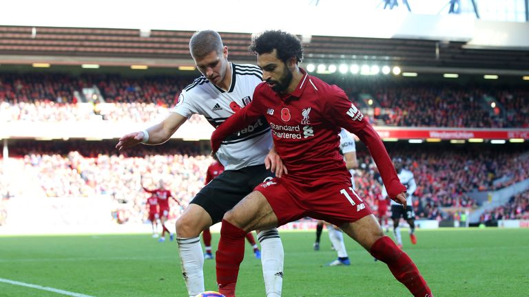 Mohamed Salah will lead the charge for Liverpool against Fulham on Super Sunday