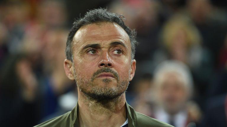 Luis Enrique will miss Spain's Euro 2020 qualifier away at Malta