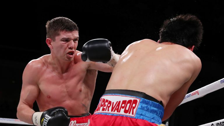 Luke Campbell warmed up for WBC title shot with a stoppage win this month