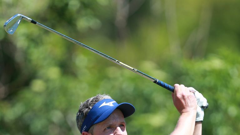 Luke Donald will be buoyed by a top-10 finish as he continues his comeback from injury