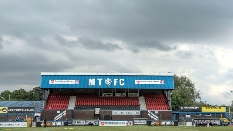 Macclesfield preserved their League Two status last season