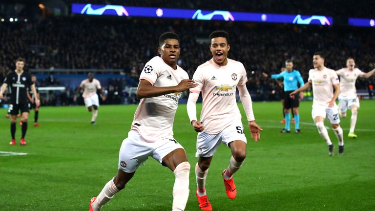 United beat PSG in dramatic fashion in the previous round