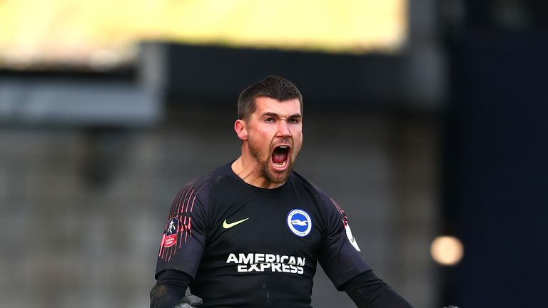 Mat Ryan was the hero for Brighton against Millwall