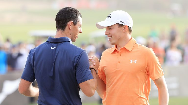 Rory McIlroy and Matt Fitzpatrick have been grouped together at the WGC-Dell Technologies Match Play