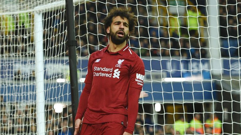 Mohamed Salah is struggling to replicate his heroics from last season