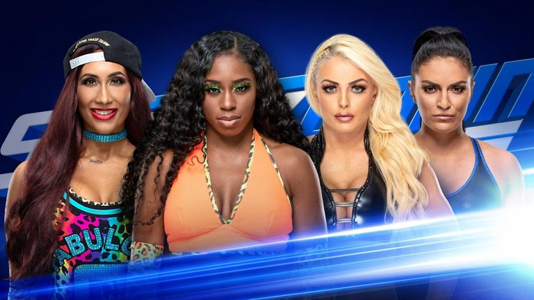 Four of the top women on SmackDown will compete for the chance to face women's champion Asuka at WrestleMania