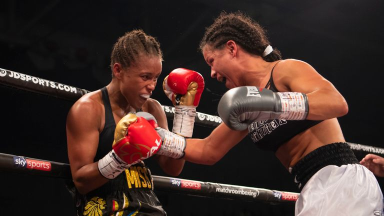 Jonas turned to her daughter and family after tough times in the ring
