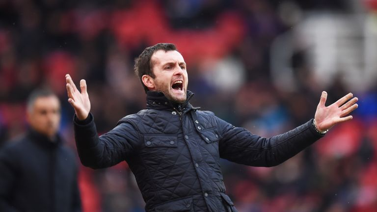 Stoke boss Nathan Jones
