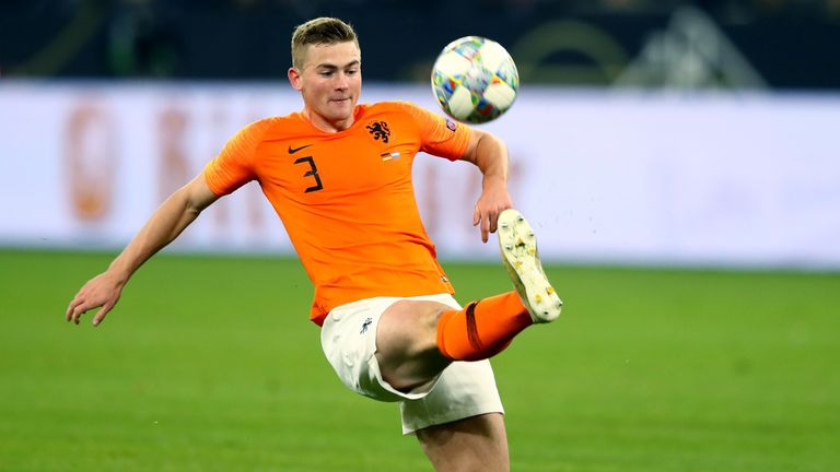 Matthijs De Ligt is wanted by Juventus