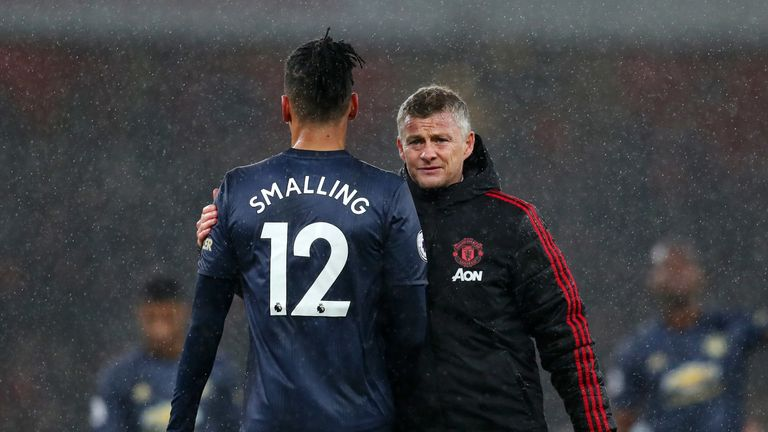 Smalling fell out of favour at Old Trafford under United boss Ole Gunnar Solskjaer