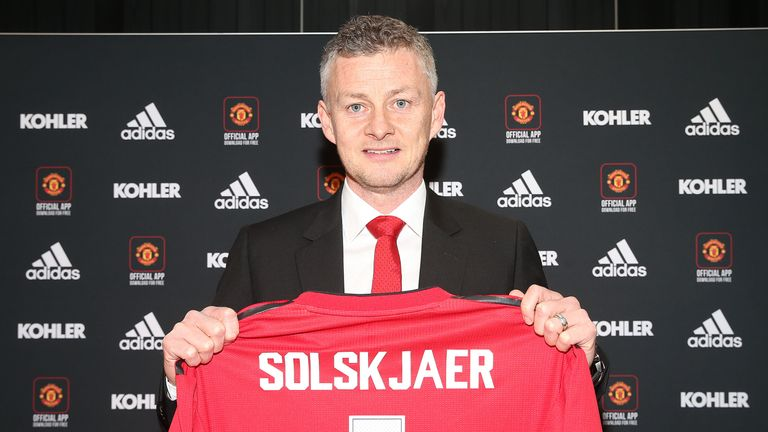 Solskjaer was recently announced as full-time manager at United