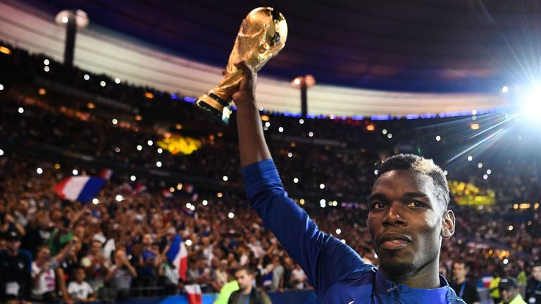 Paul Pogba will be back for France this international break