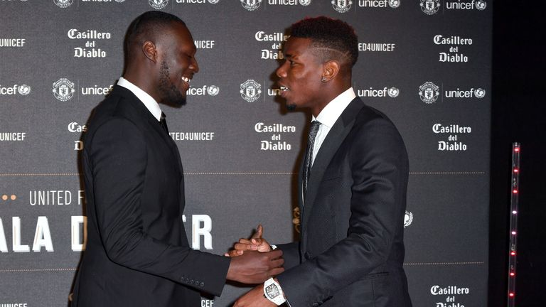 Pogba is close with British grime star Stormzy
