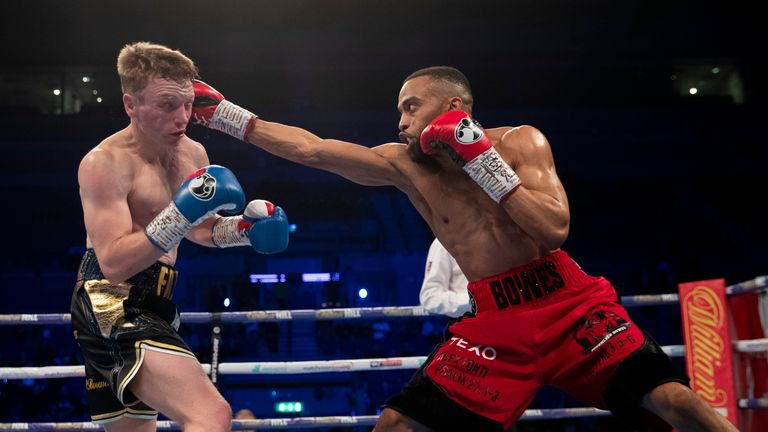 Philip Bowes was taken the full 12 rounds for the first time in his career