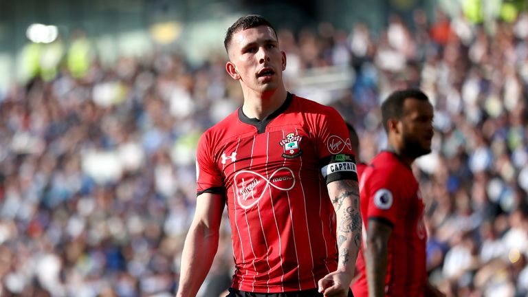 Hojbjerg joined Southampton from Bayern Munich for £12.8m in 2016