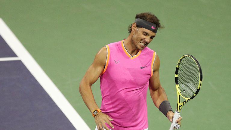 Rafael Nadal could meet Federer in a blockbuster semi-final