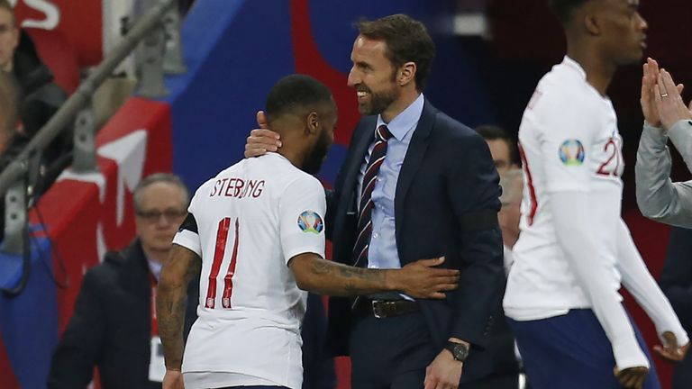 Sterling has been impressed with the job Southgate has done as England manager