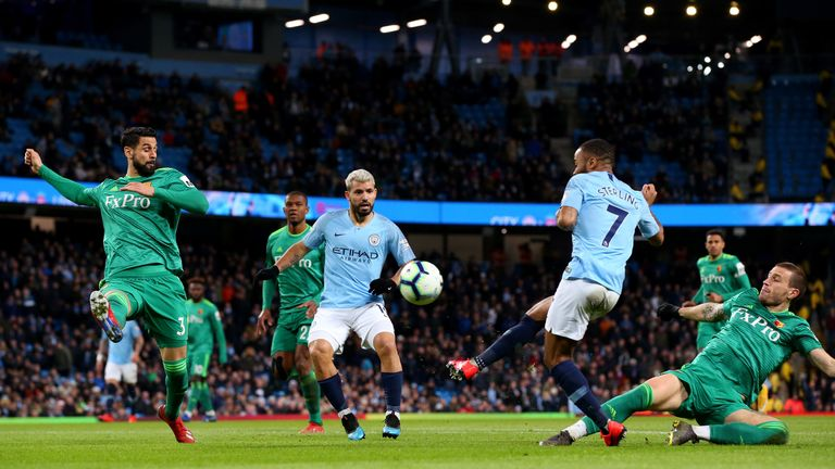 Dermot Gallagher tells us whether Raheem Sterling's opening goal for Man city against Watford on Saturday should have been ruled out for offside
