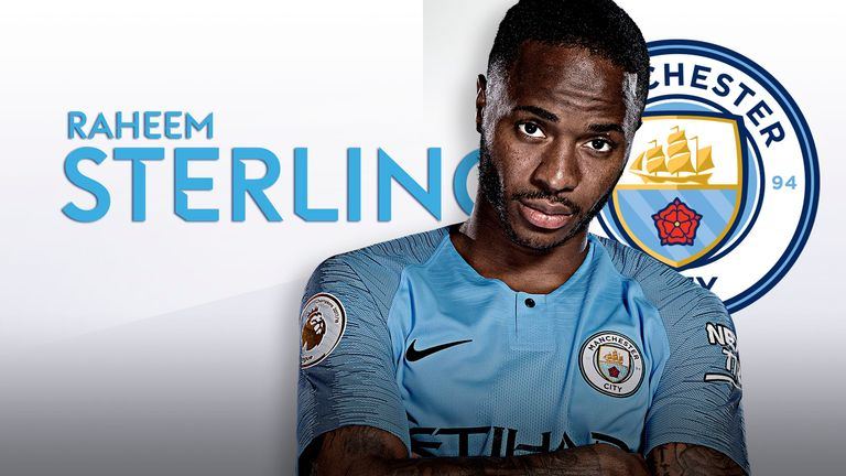 Raheem Sterling has gone from strength to strength at Manchester City