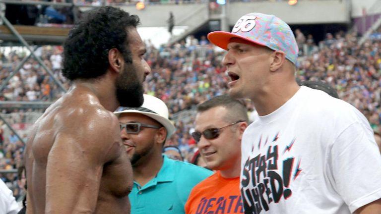 NFL New England Patriots star Rob Gronkowski set for WWE WrestleMania role?