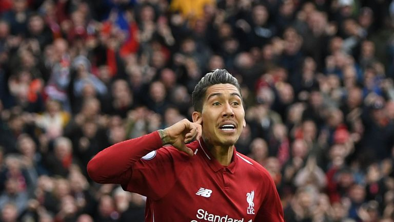 Firmino has contributed 15 goals and eight assists in 43 matches in all competitions so far this season