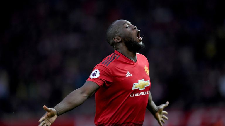 Romelu Lukaku starred for Manchester United as they got an A grade