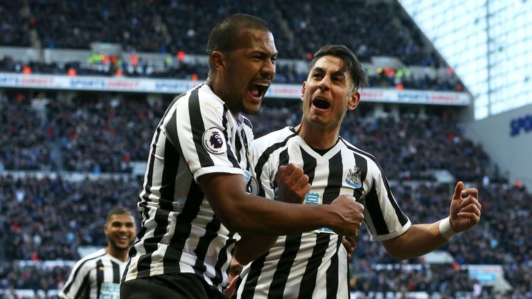 Newcastle came from behind to beat Everton in their previous match
