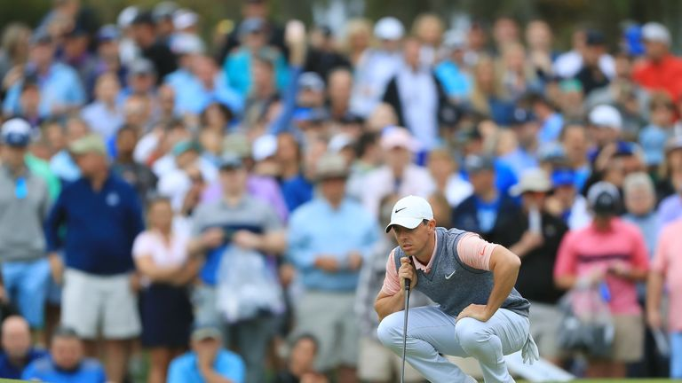 McIlroy is looking for a first win since the 2018 Arnold Palmer Invitational
