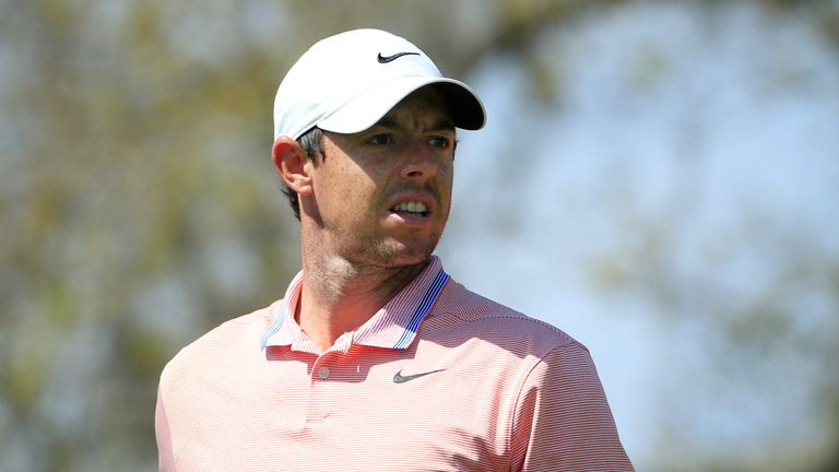 Rory McIlroy set the early clubhouse lead after his third round six-under 66