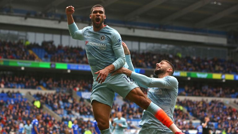 Loftus-Cheek steered home a header from Willian's cross to snatch three points for Chelsea
