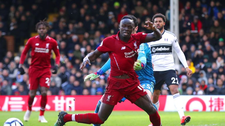 Sadio Mane is Liverpool's in-form forward