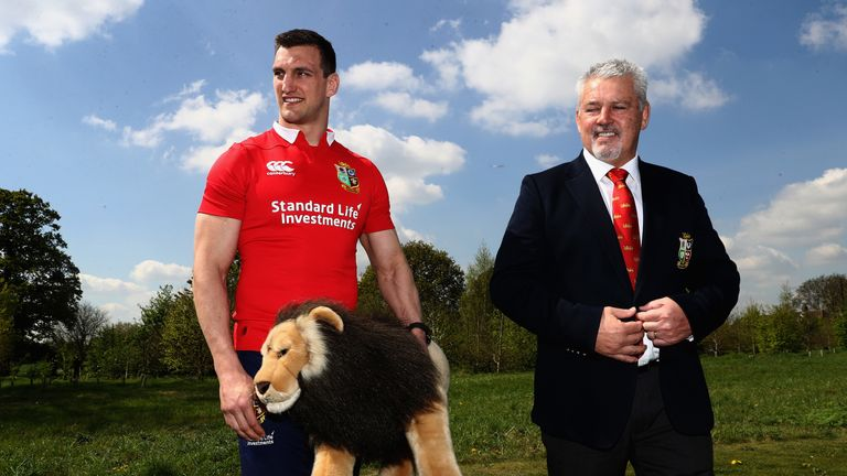 Sam Warburton dismisses Warren Gatland England link